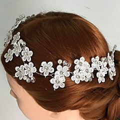 Women's Lace / Rhinestone / Alloy Headpiece-Wedding / Special Occasion / Casual Flowers 1 Piece