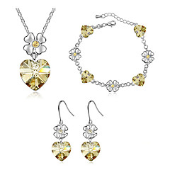 Thousands of colors  Jewelry Necklaces / Earrings / Bracelets & Bangles Jewelry 1set -8798