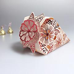 12 יחידה / סט מחזיק לטובת-יצירתי נייר כרטיסים קופסאות קישוט קופסאות מתנה ללא התאמה אישית