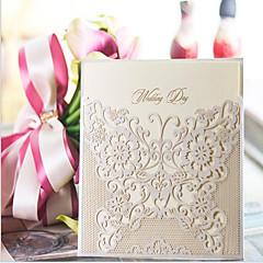 לא מותאם אישית כרטיס שטוח הזמנות לחתונה לדוגמא הזמנה-10 יחידה / סט אמנות נייר