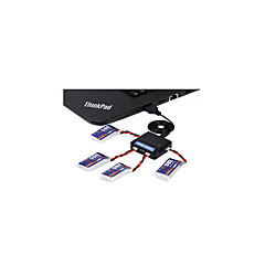 Hubsan 一般 Hubsan バッテリー RCクワッドローター / ドローン / RC飛行機 ブラック メタル 1個