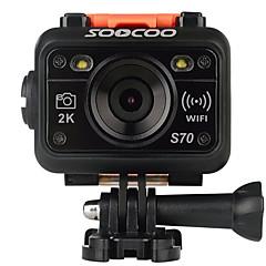 S70 SOOCOO מצלמה בסגנון / מצלמת פעולה 16MP 2048 x 1536 / 1280x960 WIFI / עמיד במים / ניתן להתאמה / Wireless 120fps / 30fps 4X ± 2EV 1.5