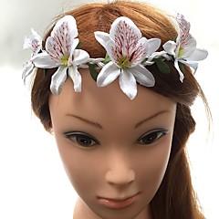 Ženy Proutěné zboží Látka Přílba-Svatba Zvláštní příležitost Čelenky Květiny vázanky Jeden díl