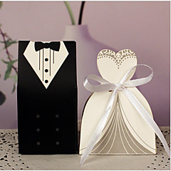 10 Piece/Set Favor Holder-Creative Card Paper Favor Boxes Non-personalised