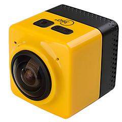 CUBE 360 Akční kamera / Sportovní kamera 16 MP 4608 x 3456 WIFI / Ayarlanabilir / Bezdrátový / Širokoúhlý 30fps Ne ± 2EV Ne CMOS 32 GB