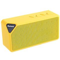 Vezeték nélküli Bluetooth hangszóró 2.0 CH Szabadtéri / Támogatott külső memóriakártya / Support FM / Sztereó / Mini
