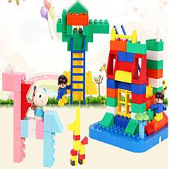 אבני בניין / צעצוע חינוכי לקבלת מתנה אבני בניין צעצועים כלליים חזיר פלסטיק קשת צעצועים