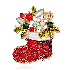 Damskie Broszki Modny Chrismas Tęczowy Biżuteria Impreza Specjalne okazje Halloween Urodziny Codzienny Casual