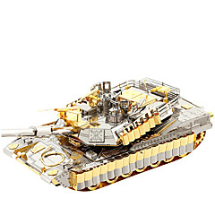 3D építőjátékok Ajándék Építőkockák Építő játékok Tank Fém 14 Évek és felfelé Zöld Játékok
