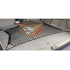 yleispalvelun kestävä kaksikerroksinen verkko auto runko tavaratilan verkko varastointi takana kuormaverkko kaksikerroksinen