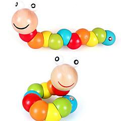 אבני בניין צעצוע חינוכי לקבלת מתנה אבני בניין מעגלי עץ שנתיים עד 4 צעצועים