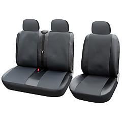autoyouth siège couverture de voiture de 12 housses de siège pour transporter / camionnette ajustement universel avec cuir artificiel