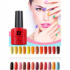 1 stuks ana 192 kleuren gelpolish nail art losweken uv nagel gel polish 10ml 25-48