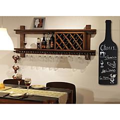 קיר דוגמנות בקבוקי יצירתיים לוח עץ בסגנון אמריקאי תלויים קישוטים