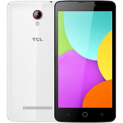 "TCL 302U 5.0 "" Android 4.4 4G Smartphone (Dual SIM Quad Core 5 MP 1GB + 8 GB Grey White)"