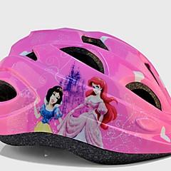 Esportivo Crianças Moto Capacete 11 Aberturas Ciclismo Ciclismo Outros Tamanho Único EPS PVC Rosa