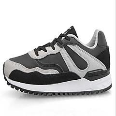 X-tep® Sneakers Fritidssko Løbesko Herre Dame Anti-glide Anti-Rystelse Påførelig Udendørs Ydeevne Klassisk PVC-læder GummiLøbe Fornøjelse