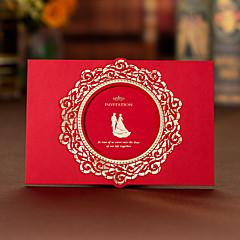 Zamotajte & Pocket Vjenčanje Pozivnice 50-Pozivnice za zaruke Pozivnice Umjetnički stil Kartonski papir