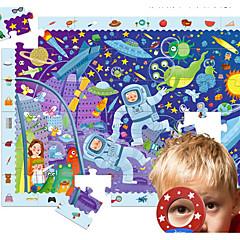 Puzzle Vzdělávací hračka Stavební bloky DIY hračky 1 Dřevo