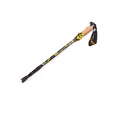 2 Trekking Poles 120cm (47 Inches) Damping Yellow Red Blue Aluminum Alloy Hiking other