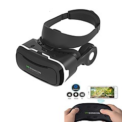 Shinecon VR 4.0 Virtual Reality 3D Glasses Headset  for Mobile Smartphone with Original Controller
