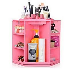 Organizador para Maquiagem Plástico Preta Rosa Branco Outros 28*28*32