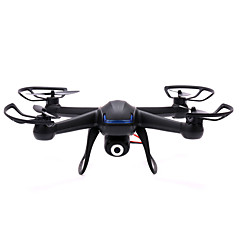 Bi-plans 4 canaux 2.4G Avion RC Noir Assemblement requisQuadri rotor RC Caméra Télécommande 1 Batterie Pour Drone Hélices Manuel