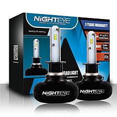 nighteye 8000ルーメン25ワット各電球の穂軸は、12Vの24V H1は車のヘッドライトキットのフロントライト電球霧電球ヘッドランプの交換車の照明キットを主導主導しました
