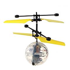LED-verlichting Verlicht stress Vliegende gadget Origineel speelgoed Cirkelvormig Kunststof Voor jongens Voor meisjes