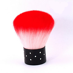 1ks syntetické vlasy nail art kartáč růžová top zahrálo