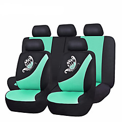 2017 nye bilen setetrekk butterfly utskrift rosa grønn lilla universal bil dekke sete bilrekvisita mesh stoff setetrekk