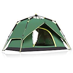 CAMEL 3-4 henkilöä Teltta Kaksinkertainen teltta Yksi huone Automaattinen teltta Ultraviolettisäteilyn kestävä Sateen kestävä