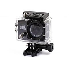 מצלמה בסגנון / מצלמת פעולה 4608 x 3456 WIFI עמיד במים נגד זעזועים 2 CMOS 32 GB H.264 30 M אוניברסלי נסיעות