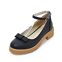 Women's Heels Spring Summer Fall Winter Comfort Novelty Synthetic Leatherette PU Wedding Office & Career Dress Casual Party & Evening