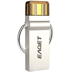 eaget 2 ב 1 32GB כסף 3.0 כונן הבזק USB OTG