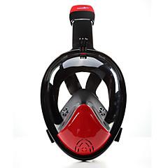 Máscaras de mergulho Anti-Nevoeiro Não são necessárias ferramentas Máscaras Faciais 180 Graus Mergulho e Snorkeling Neopreno-THENICE
