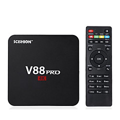 TV Box Android 5.1 Black 802.11n Wi-Fi