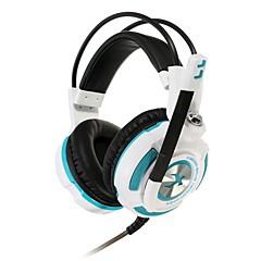 xiberia k3u herní sluchátka virtuální 7.1 prostorový stereo bass lehké vibrace herní sluchátka s mikrofonem sluchátka pro PC hráče