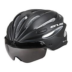 ספורטיבי לגברים אופניים קסדה 17 פתחי אוורור רכיבת אופניים רכיבה על אופניים רכיבה על אופני הרים רכיבה בכביש PC EPSאדום אפור שחור ירוק בהיר
