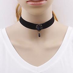 Women Gothic Harajuku exports black Roses Necklace Choker Jewelry Wedding Party Special Occasion Halloween Birthday Casual Christmas Gifts