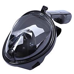 Kits para Snorkeling Máscaras de mergulho Pacotes de Mergulho Máscaras Faciais 180 Graus Mergulho e Snorkeling Natação Surf Silicone