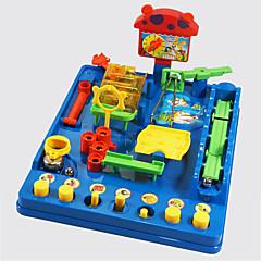 צעצועים תחביבים ופנאי צעצועים מודרני, חדשני מרובע פלסטיק קשת לבנים לבנות