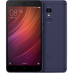 "Xiaomi® Redmi Note4 5.5 "" MIUI טלפון חכם 4G ( SIM כפול Deca Core 13 MP 4GB + 64 GB כחול )"