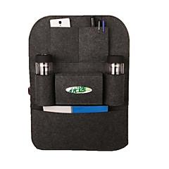 organisateur de siège de voiture de haute qualité des couvertures universelles poche multiples siège isolation automobile sac à dos de