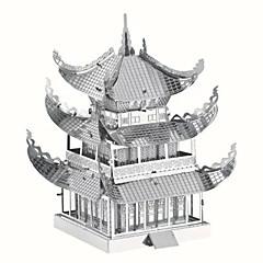 3D-puslespill Metallpuslespill som Gave Byggeklosser Modell- og byggeleke Kjent bygning Kinesisk arkitektur Arkitektur Metall14 år og