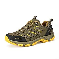 Tênis de Caminhada Sapatos de Montanhismo Homens Anti-Escorregar Anti-Shake Respirável Vestível Ao ar Livre Cordões Cano BaixoCourino
