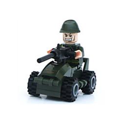 לקבלת מתנה אבני בניין צעצוע בניה ודגם לוחם צעצועים
