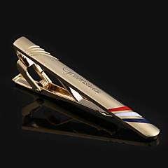 Marié Groom Cortège garçon Cadeaux Pièce / Set Boutons de manchettes & Clips de cravate Luxueux ModerneMariage Célébration Anniversaire