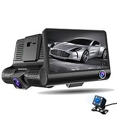 hd bil DVR 1080p bil kamera opptaker dash cam g-sensor video Registrator tre linse videokamera wdr nattsyn auto DVR fartsskriver