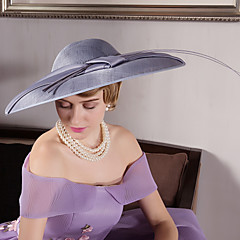 נוצה פשתן קטיפה כיסוי ראש-חתונה אירוע מיוחד חוץ קישוטי שיער כובעים חלק 1